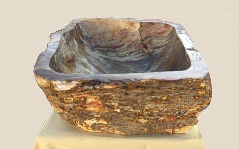 Fossil-Waschbecken